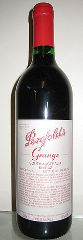 Drink some Penfolds Grange - Australia's most famous wine