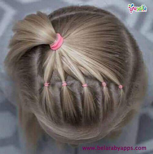 تسريحات اطفال للحفلات والاعياد 2019 تسريحات شعر بنات صغار للعيد 2019 Hair Styles Flower Girl Hairstyles Girl Hairstyles