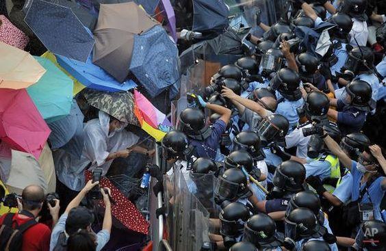 #HongKongProtests