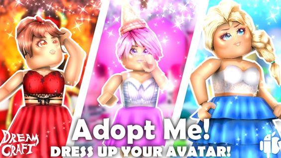 Adopt Me Dress Up Roblox Adoption Roblox I Dress