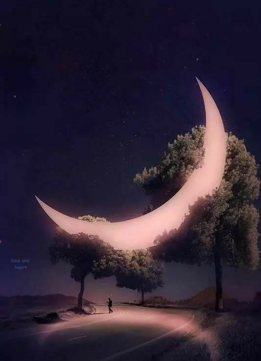 I N F P Beautiful Moon Nature Photography Moon Art