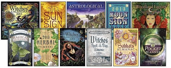The Magickal   Cat is a great source for allthings magic including 2013 Calendars, Almanacs and Datebooks at The Magickal Cat