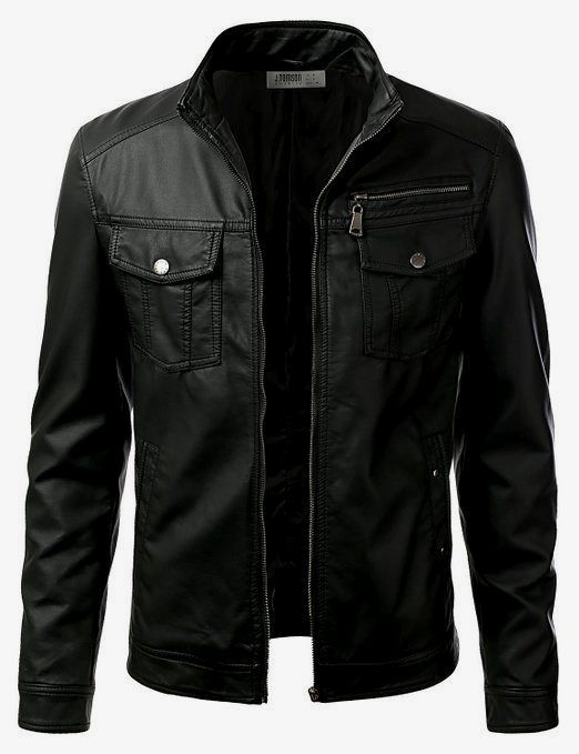 Mens leather jackets. Leather jackets certainly are a very important component to every single man's wardrobe. Men need jackets for several activities as well as some varying weather conditions
