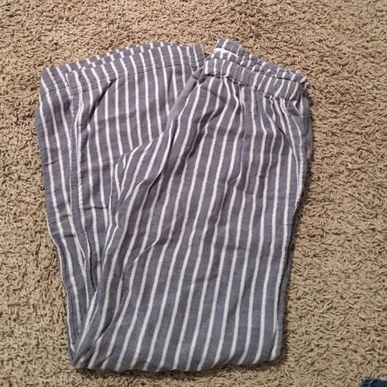 Pajama pants!  Very comfortable! Small holes on the ribbon but still in good condition! American Eagle Outfitters Intimates & Sleepwear Pajamas