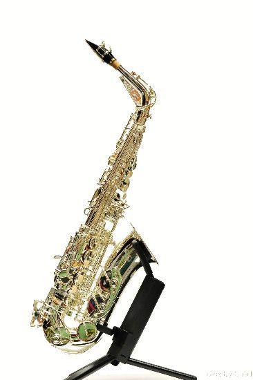 Rheuben Allen - RA Series 5 Silver Plated Alto Sax HPN in Rheuben Allen Saxophones