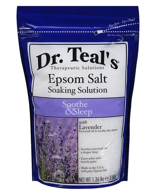 Dr. Teal's Epsom Salt Soaking Solution Soothe & Sleep - 3 lb. | LuckyShops