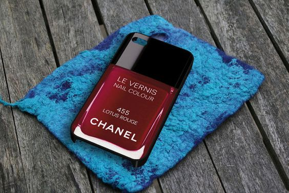 Lotus Rouge Nail Polish iPhone 5 Case by snappycase on Etsy, $15.79