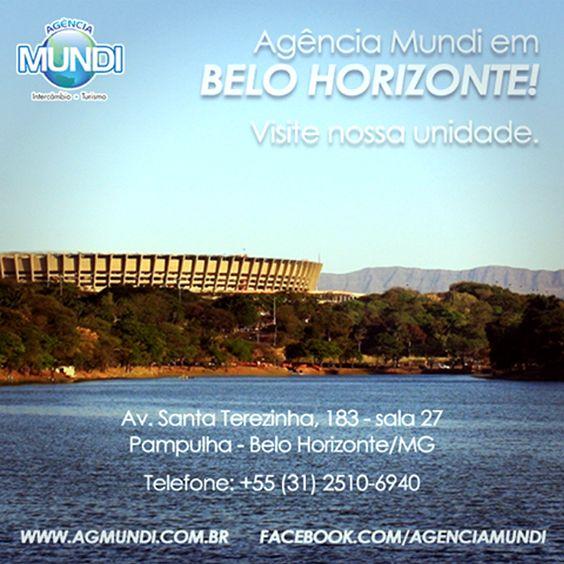 Agência Mundi em Belo Horizonte - Venha saber mais sobre o seu próximo intercâmbio. Acesse: www.agenciamundi.com.br
