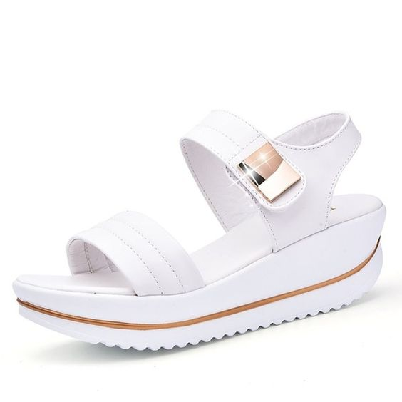 58 Casual Sandals To Wear Now shoes womenshoes footwear shoestrends