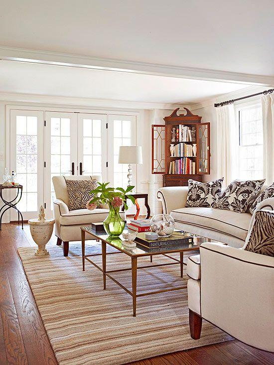 Neutral Living Room: Living Room Color Ideas: Neutral