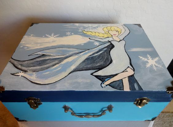 Personalized Disney Elsa Decorative Jewelry Box