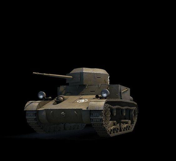 American T2 light tank
