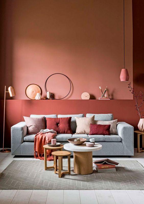 Wohnen Wohnzimmer Farblich Gestalten Wohnzimmer Design Wandfarbe Wohnzimmer