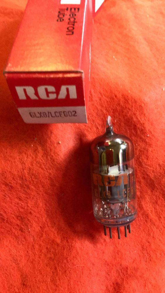 6LX8 LCF802 RCA vacuum tube NOS NIB