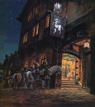 Ted Nasmith - At the Sign of the Prancing Pony: