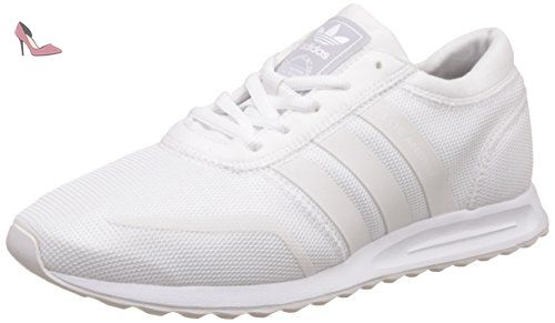 adidas ZX Flux, Sneakers Basses Mixte Adulte, Blanc (Footwear White/Footwear White/Gum), 40 EU