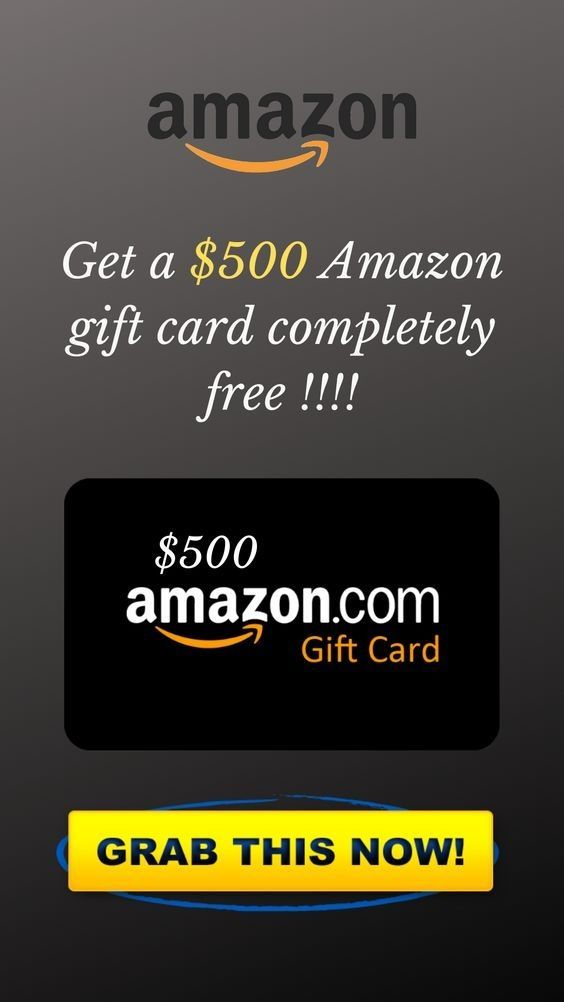 If You Want To Win A 500 Amazon Gift Card Click On The Link Inside The Pin In 2021 Amazon Gift Card Free Amazon Gift Cards Amazon Gifts