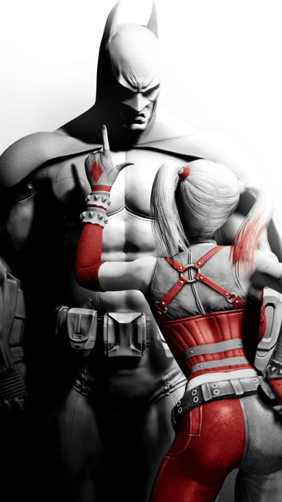 Batman And Harley Quinn | Daily iPhone 6/5/4 Wallpapers ...