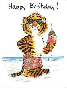 Suzy Zoo Birthday Cards | Suzy's Zoo Birthday Tiger Gift Enclosure Card: MilliaKids.com