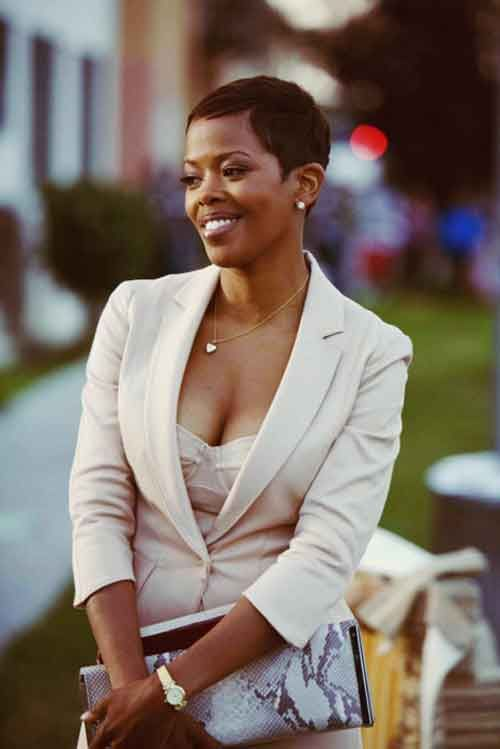 Excellent Haircuts Black Women And Pixie Haircuts On Pinterest Short Hairstyles For Black Women Fulllsitofus