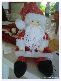 Grupo de Bordado: Papai Noel