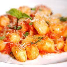 Gnocchi with Tomato Sauce Recipe