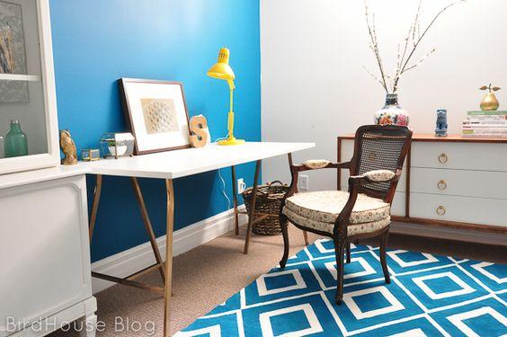Amazing painted rug!