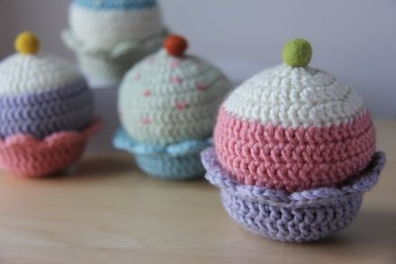 Cupcake Soft Blocks: