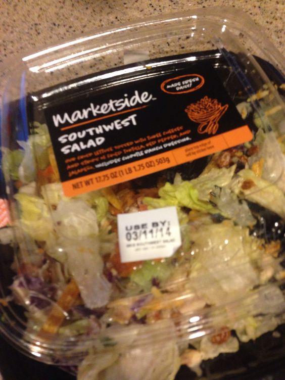 Outstanding salad from Walmart Deli- southwest salad....   Foodie ...