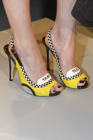 All the Scene-Stealing Shoes From New Yorks Fall 2013 Shows: Band of Outsiders Fall 2013: Kate Spade Fall 2013