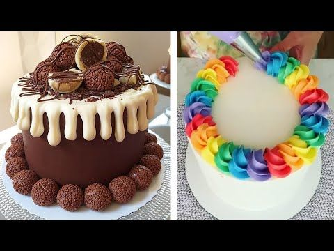 Most Satisfying Cake Decorating Compilation Easy Diy Make