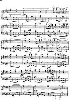 el sonido del tiempo: La comparsa - Ernesto Lecuona, partitura para piano
