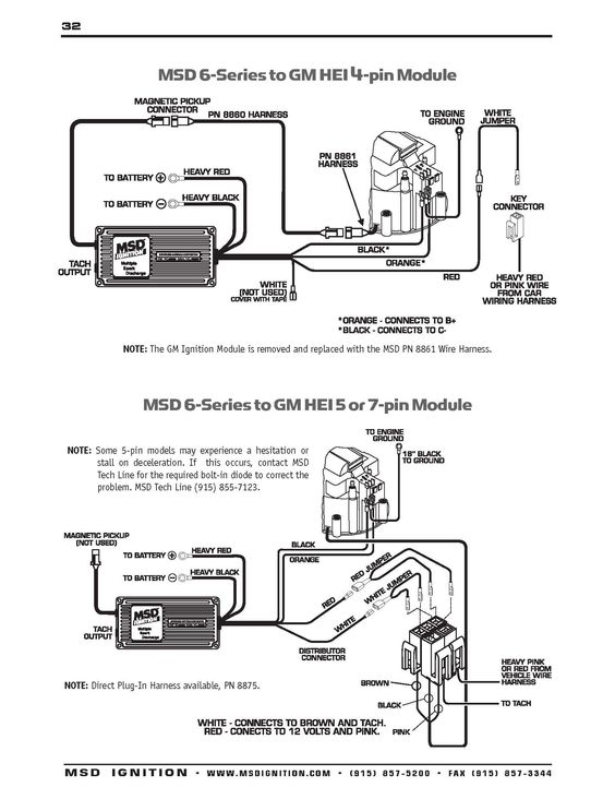 Msd 6al Wiring Diagram For Hei On Msd Download For Wiring Diagrams