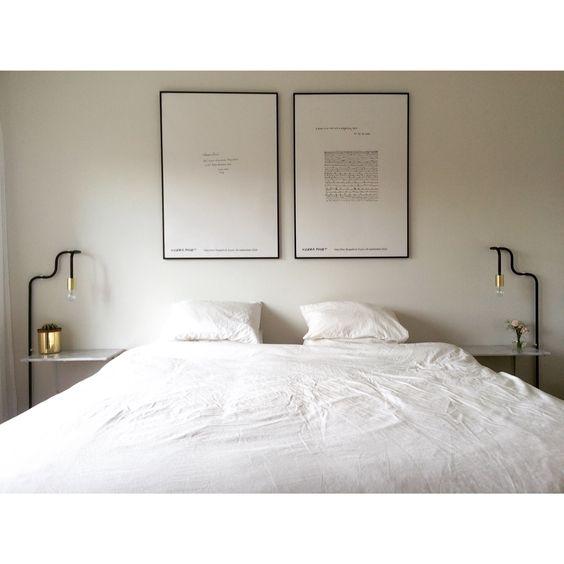 DIY Sänglampor och marmor sängbord | Home | Pinterest | Gör-det-själv