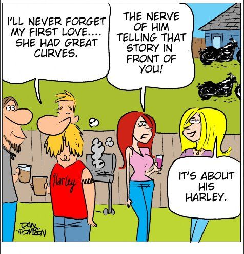 Harley So many times! :-(  I think I tell it better :-)