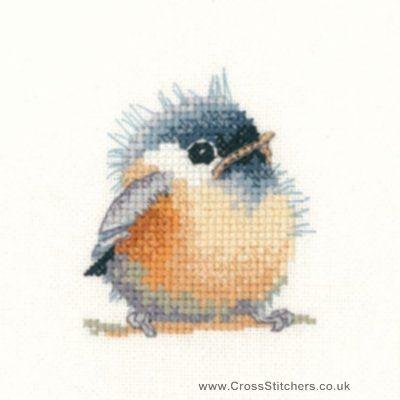 Counted Cross Stitch Pattern PDF Silhouette Birds 003
