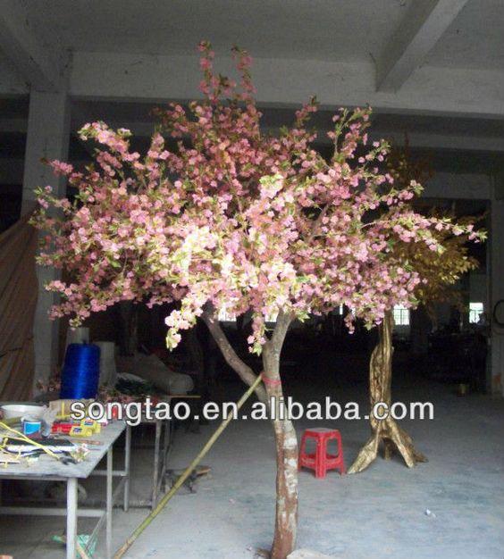 Artificial de alta calidad de la flor de cerezo de rboles for Arboles de decoracion