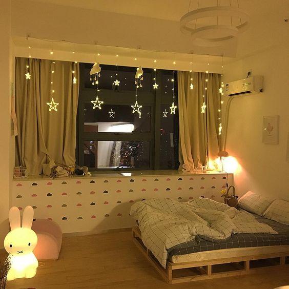 cute small comfy bedroom decor