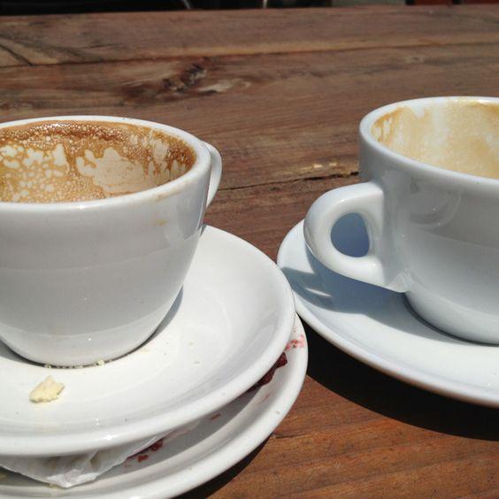 Deus ex machina and some handsome coffee