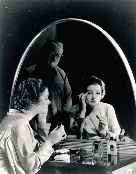 Max Factor et Myrna Loy