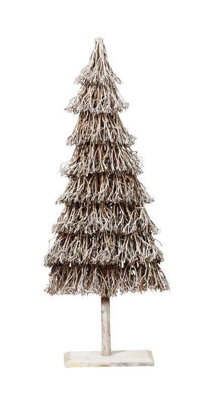 Sapin décoratif à effet blanchi Pomax au BHV Marais : Des sapins de Noël pas comme les autres - Journal des Femmes