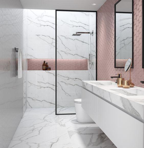 Our Fave Bathroom Tile Design Ideas Trendy Bathroom Minimalist Bathroom Design Bathroom Tile Designs Fashionable style ceramics for bathroom
