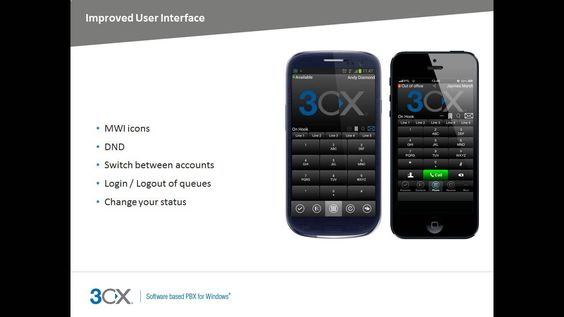 What's New in 3CX Phone System 12 http://jomar.cc/3cx
