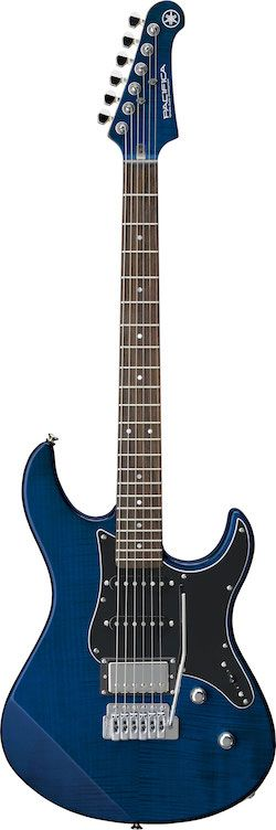 Yamaha's new Pacifica 612VII is a limited edition SSH configuration guitar with…