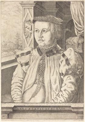 Lautensack, Hans Sebald German, 1524 - 1561/1566 Lady von Eckh (born Piencsenau) 1553 etching and engraving Bartsch, no. 10 Rosenwald Collection1950.1.97Not on View