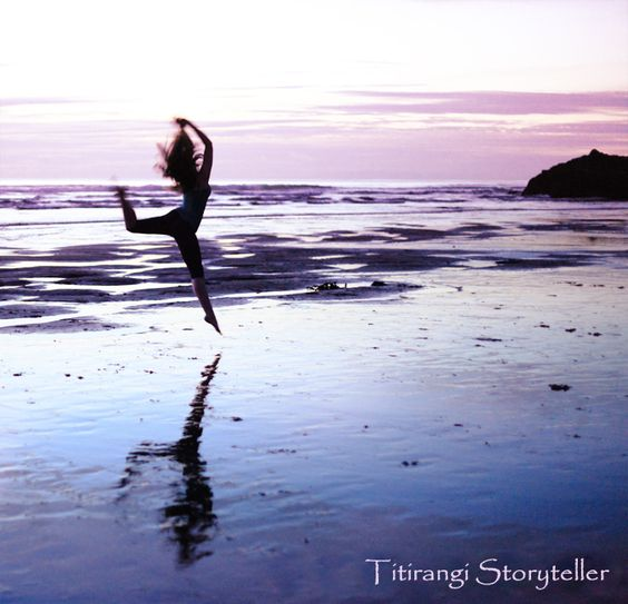 One lady leaping by Veronica McLaughlin, via 500px