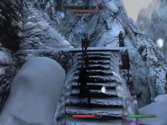 90% of my skyrim experience lately when all draugr's are high level.