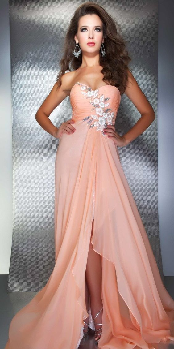 Mac Duggal Evening Dress (61197M) | Pink & Peach | Pinterest | Mac ...