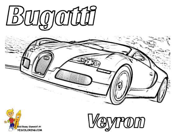 bold  u0026 39 n bossy bugatti race car coloring page you can print