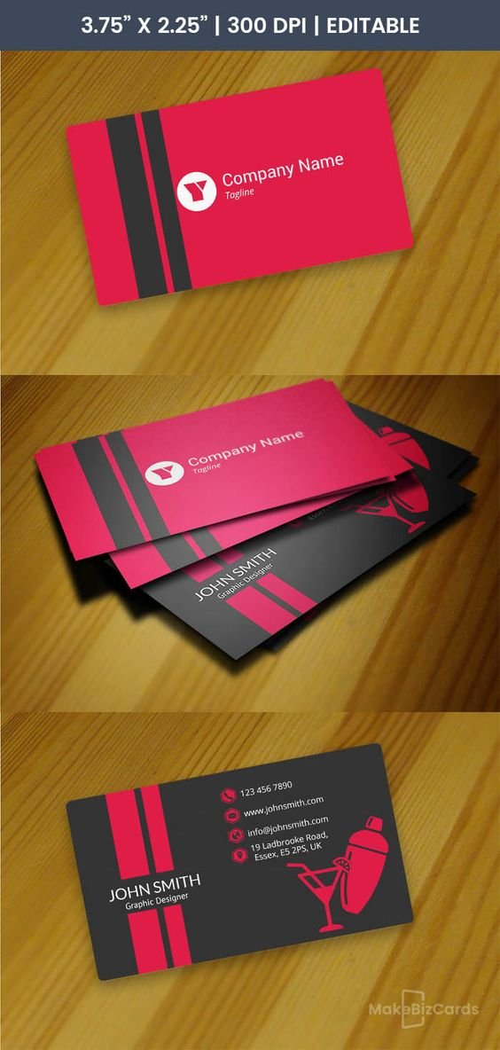 The Note Restaurant Business Cards Printing Business Cards Business Card Template